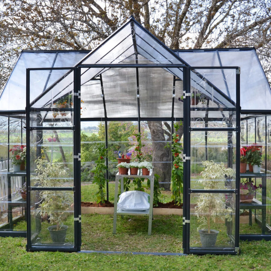 Backyard Greenhouse Ideas