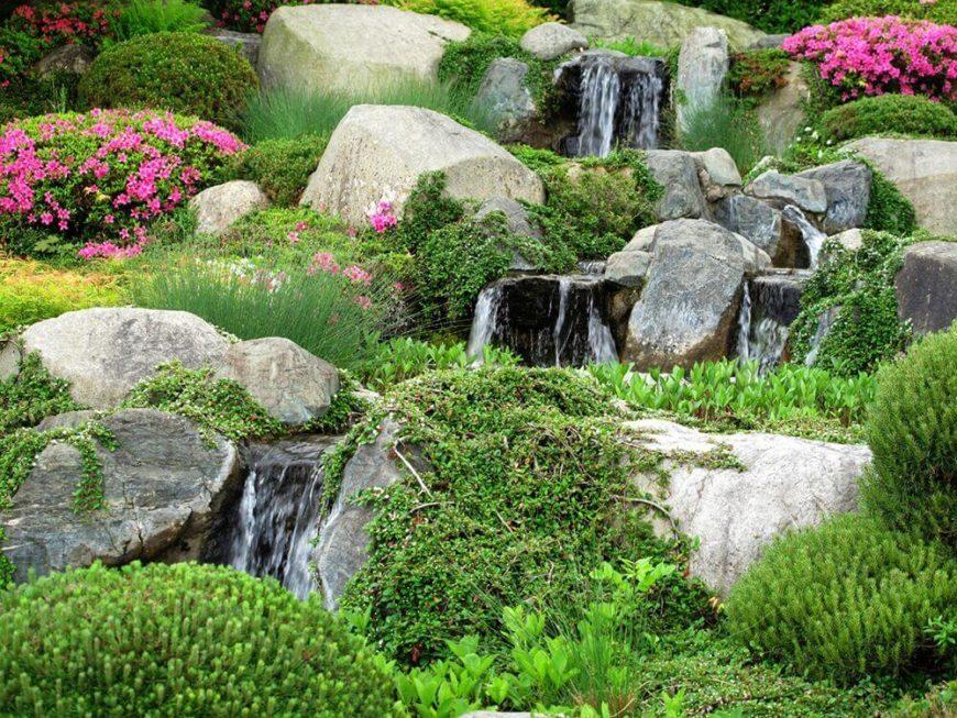 32 Backyard Rock Garden Ideas on Backyard Rock Designs id=47377
