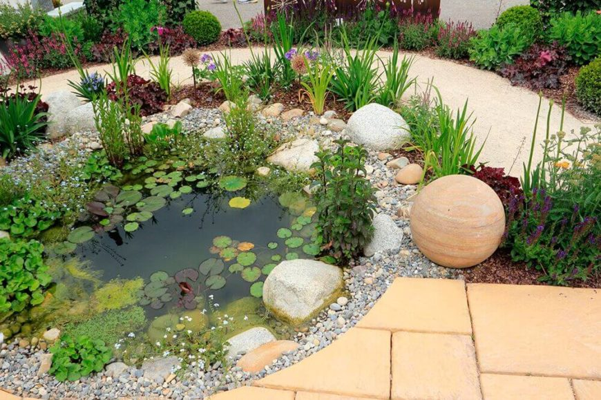 32 Backyard Rock Garden Ideas on Small Garden Ideas With Rocks id=16230
