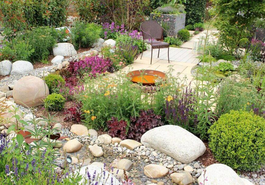 32 Backyard Rock Garden Ideas on Backyard Rock Garden Ideas id=13162