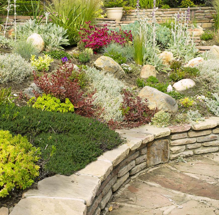 32 Backyard Rock Garden Ideas on Backyard Rock Designs id=41085