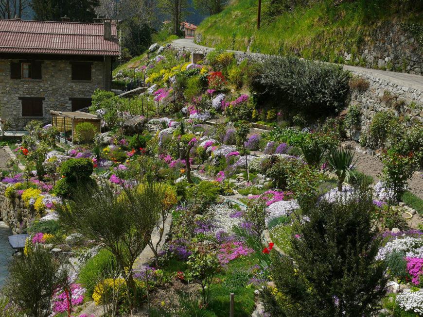 32 Backyard Rock Garden Ideas on Mountain Backyard Ideas id=89208