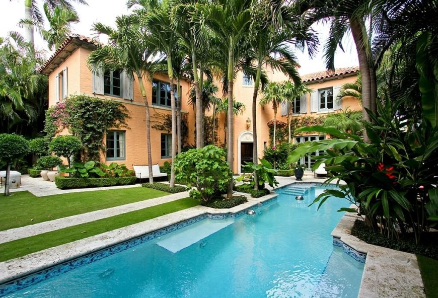 30 Spectacular Backyard Palm Tree Ideas on Palm Tree Backyard Ideas id=68274