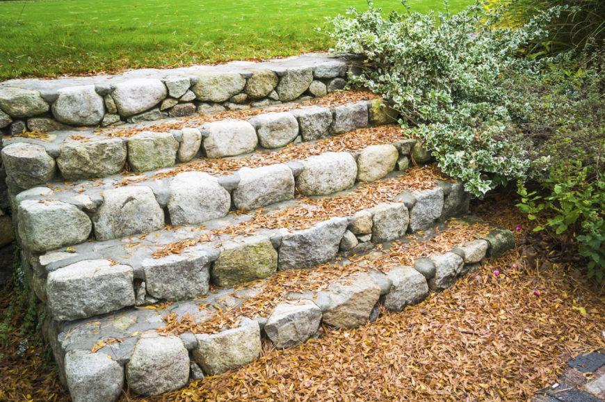 37 Magnificent Backyard Stone Step Ideas on Backyard Stairs Ideas id=48516