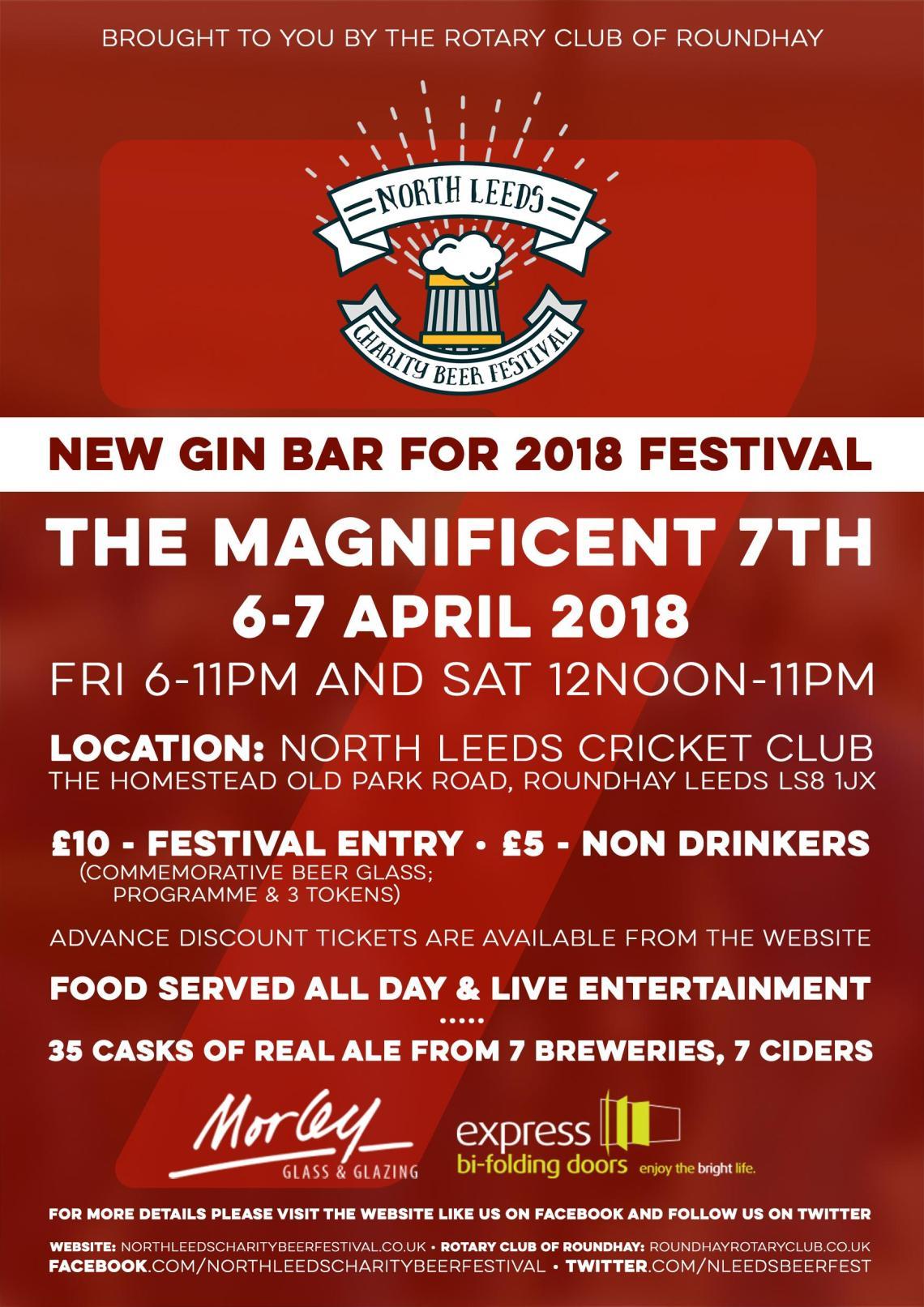Leeds Beer Festival 2018