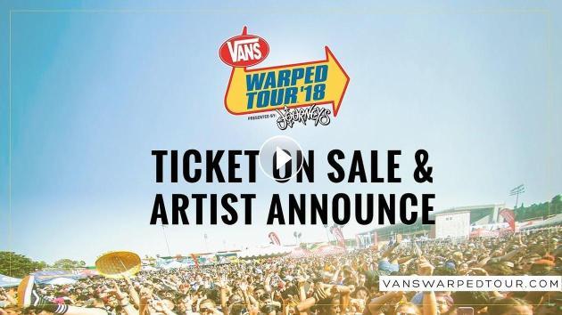 2018 Vans Warped Tour : Tickets On Sale & Artist Announce Video
