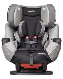 Evenflo Symphony LX Convertible Car Seat Review