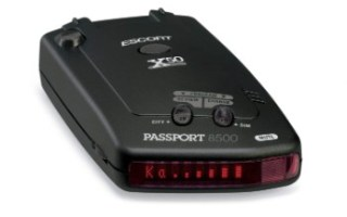 Escort Passport 8500X50 Black Radar Detector Review