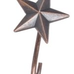 Details About Cowgirl Kim Rustic Star Shower Curtain Hooks