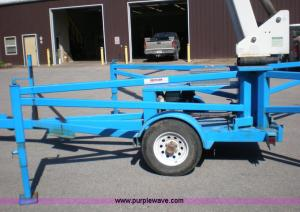 1997 Ameriquip Eagle 245 boom lift   Item 1460   SOLD