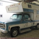 1978 Gmc Sierra Grande 25 Camper Special Truck With Camper In Manhattan Ks Item 8483 Sold Purple Wave