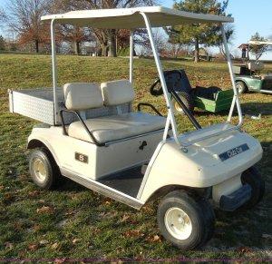Ingersoll Rand Club Car golf cart | Item H9232 | SOLD! Janu