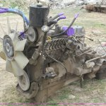 1993 Cummins 5 9l Diesel Engine With Allison Transmission In Ashland Ne Item G9482 Sold Purple Wave