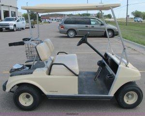 1999 Ingersoll Rand Club Car golf cart | Item D6573 | SOLD