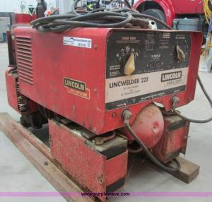 Lincoln Lincwelder 225 weldergenerator | Item AB9430 | SOLD