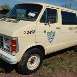 1985 Dodge Ram Wagon B350 Royal Van In Topeka Ks Item J3980 Sold Purple Wave