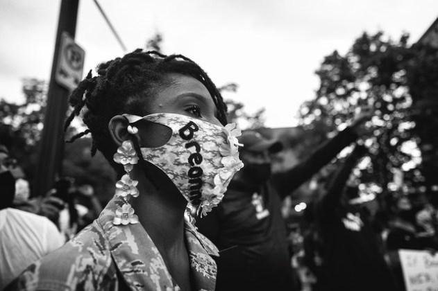 Sheila Pree Bright | #1960Now, The People's Uprising Rally, Breonna Taylor.  Atlanta, GA (2020) | Artsy