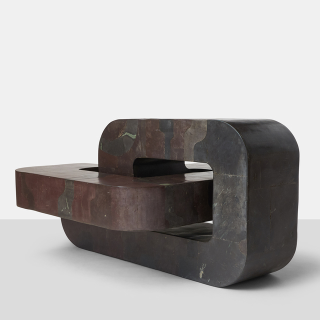 sculptural coffee table by pierre elie