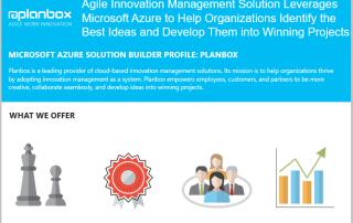 Planbox Microsoft Azure Innovation Management as a Service
