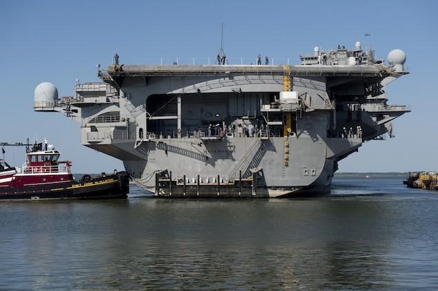 USS Enterprise. Photo by Ricky Thompson