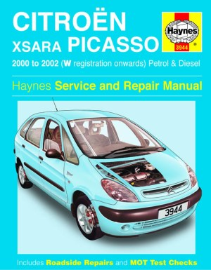 Citroen Xsara Picasso Petrol & Diesel (00  02) Haynes Repair Manual | Haynes Publishing