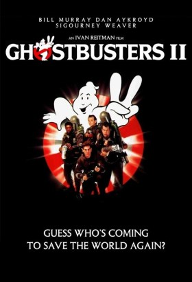 Image result for ghostbusters 2 original movie poster