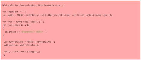 Javascript-Nintex-Forms