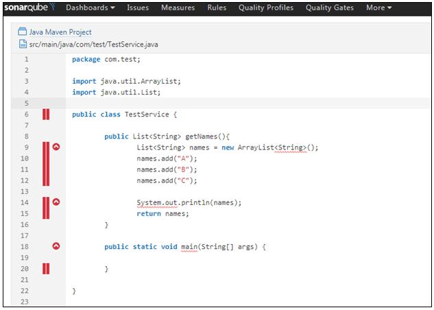 Sample Java Class