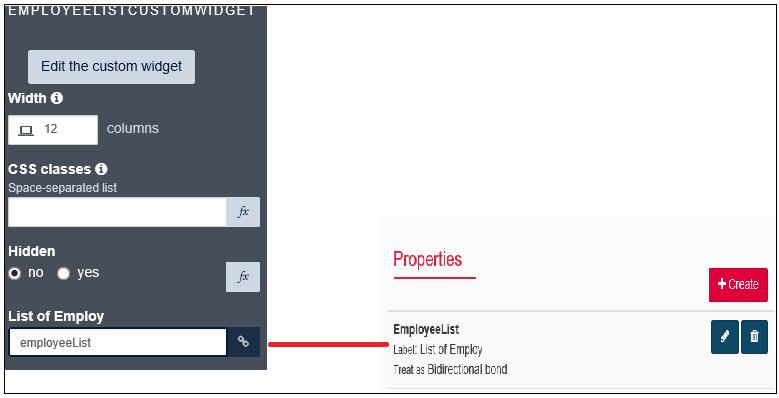How to Create a Custom Data Grid Widget in Bonita BPM UI Designer