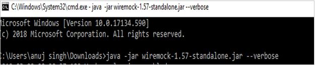 Java Jar Wiremock