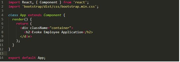 ReactJS Framework Web Page Rendering