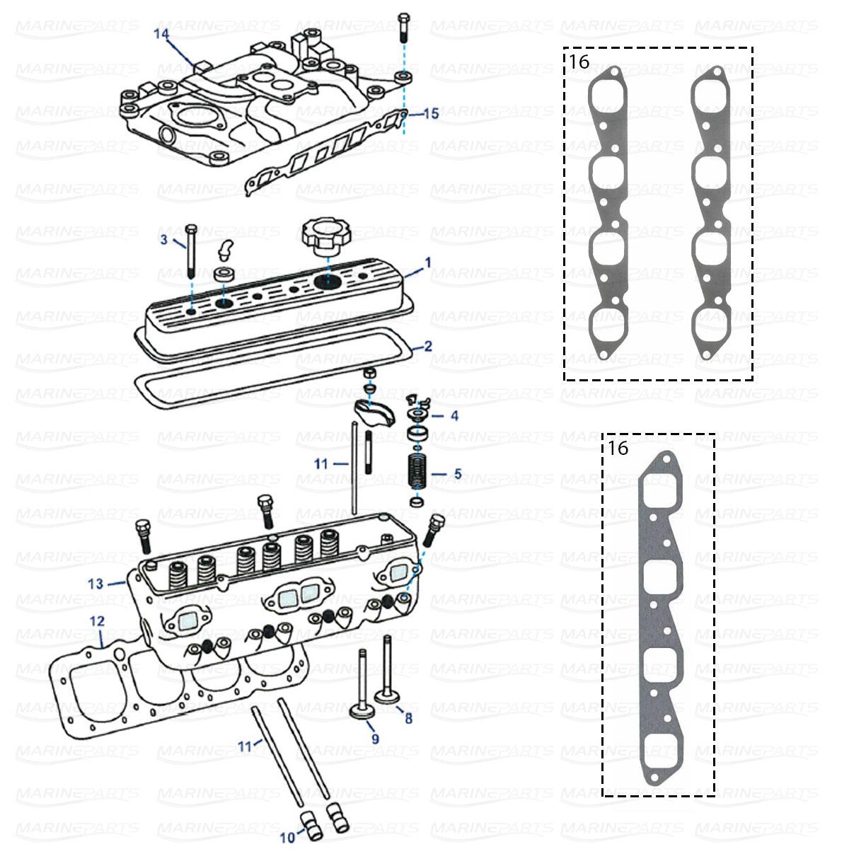 Spare Parts Inboards Omc Engine Parts Marineparts