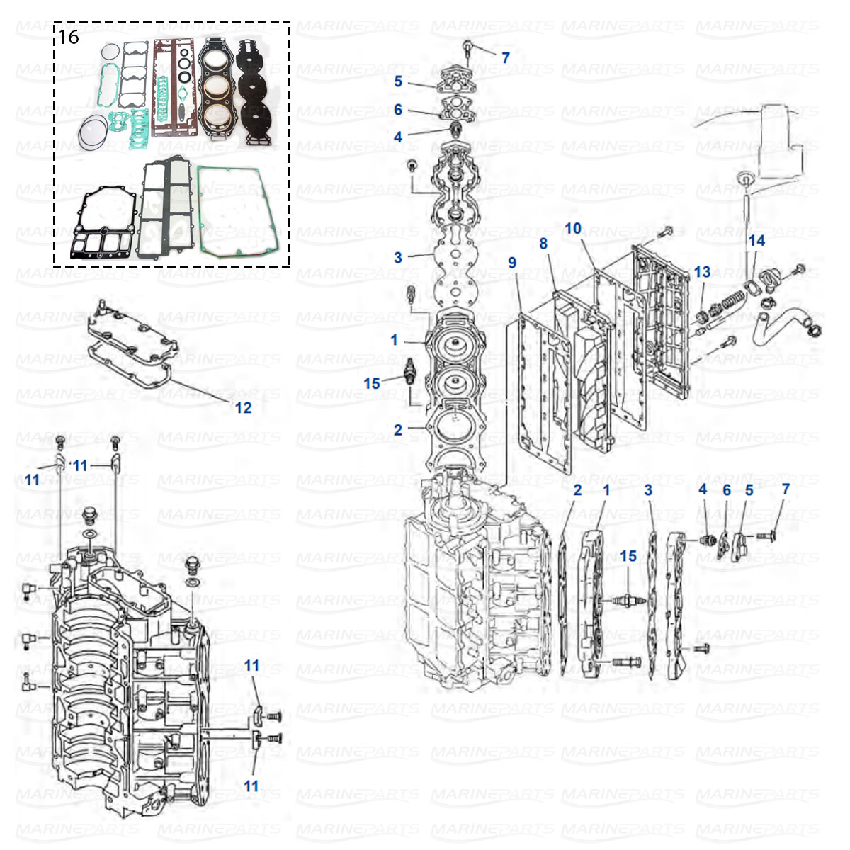 Yamaha Engine Parts For Outboard Motor Marineparts