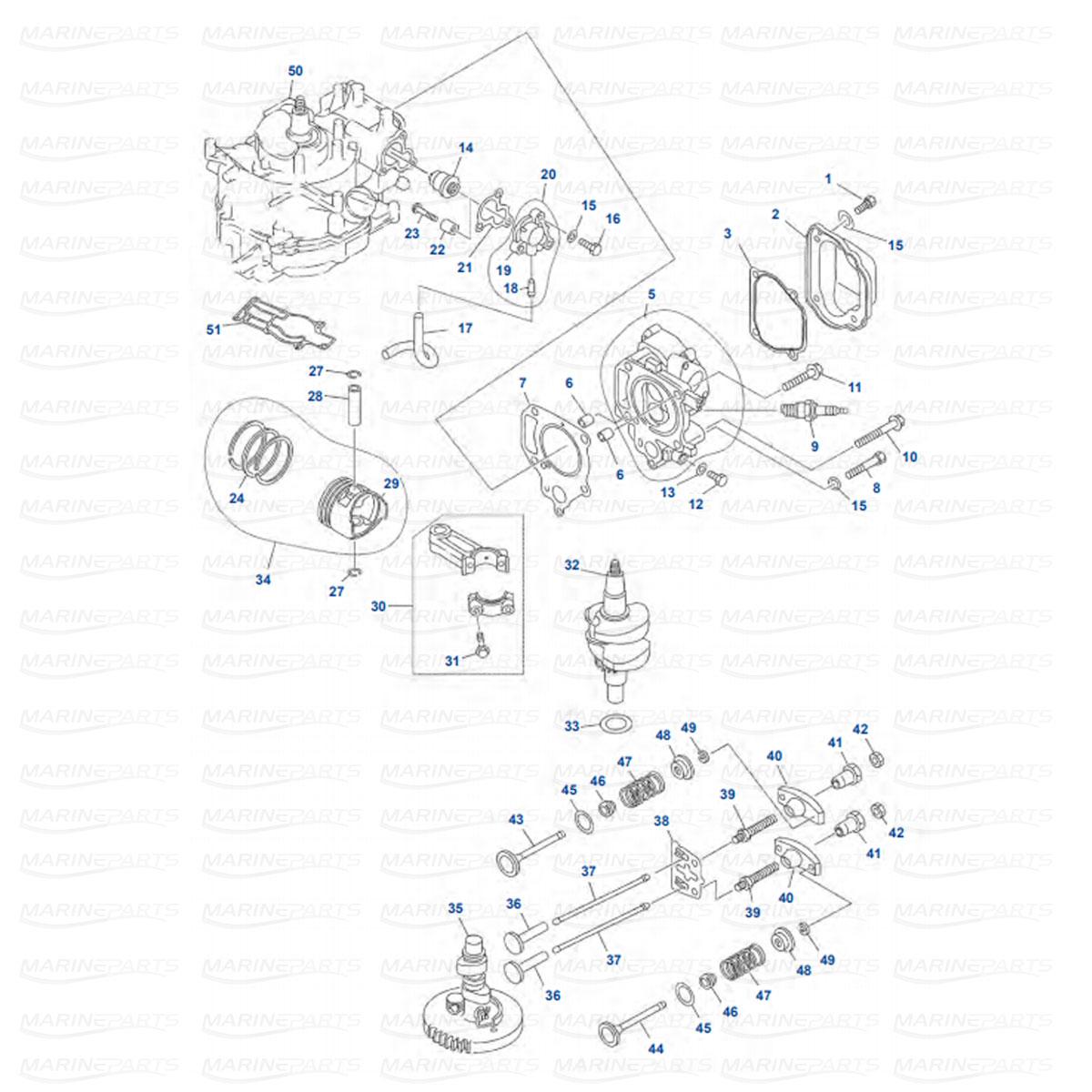 Yamaha Moottorin Varaosat Peramoottorille Marineparts Finland