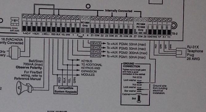 dsc alarm panel wiring diagrams  rv wire harness color code