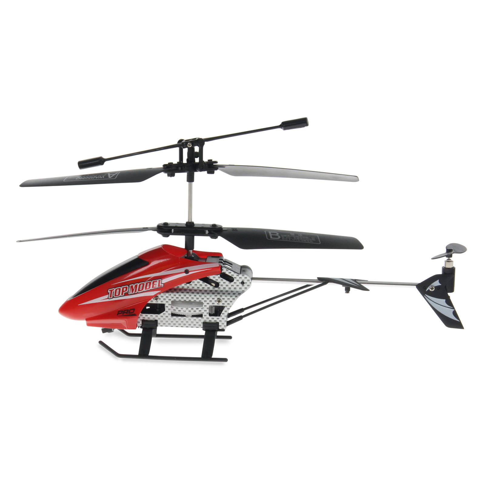 Top Model Red Rc Helicopter At Hobby Warehouse