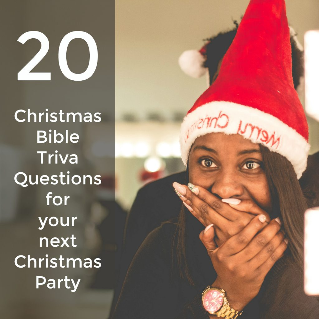 Christmas Bible Trivia Quiz For Christmas Party Games