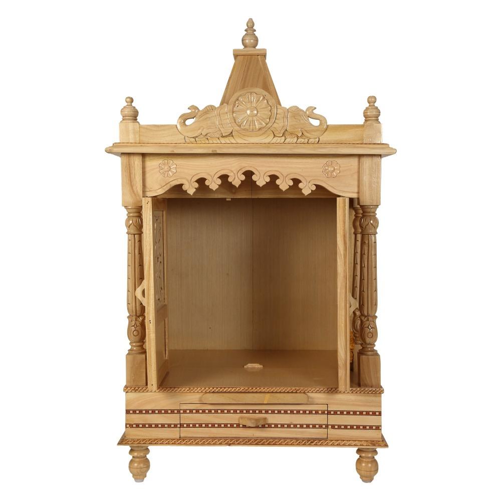Best Kitchen Gallery: Sevan Wooden Mandir For Home Pooja Puja 22lx15 Sw152240 Sevan of Wooden Temple Designs For Home on rachelxblog.com