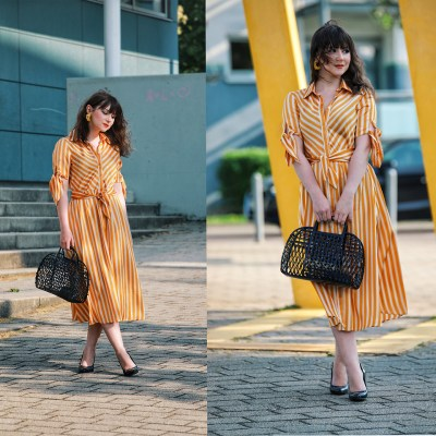 Fashionista NOW: Black And Yellow Outfit Style Ideas