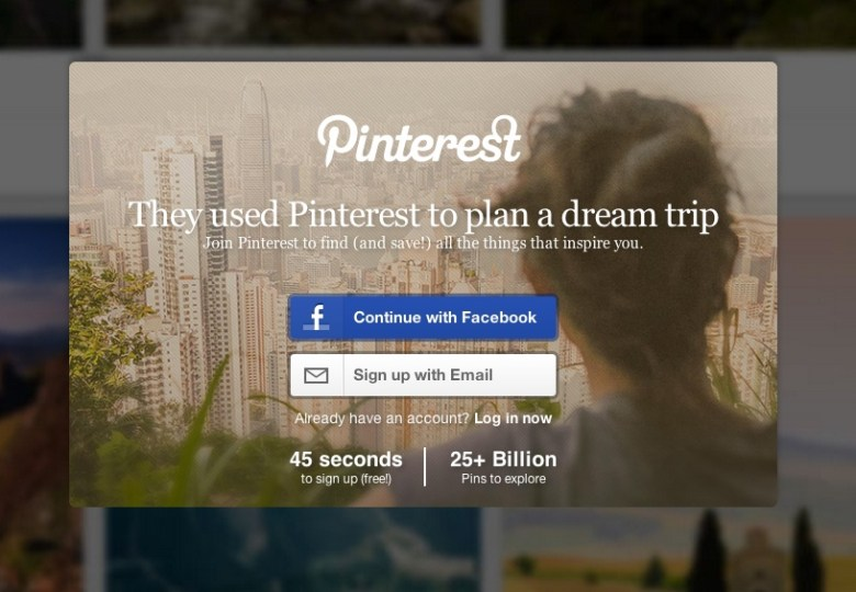 Pinterest Landing Page Copy