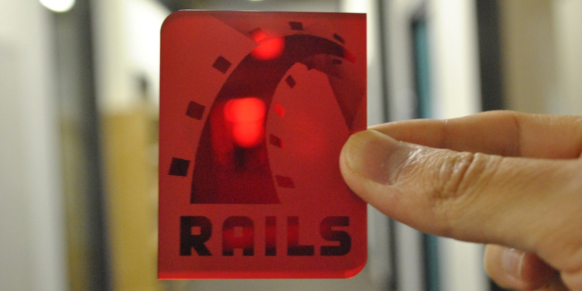The programming language ruby on rails