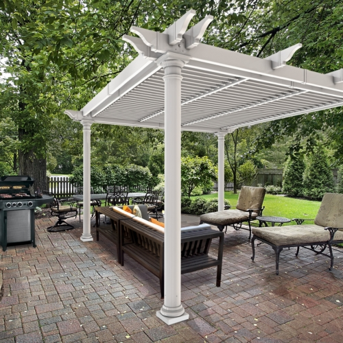 diy pergola kits for your backyard delivered throughout canada and usa