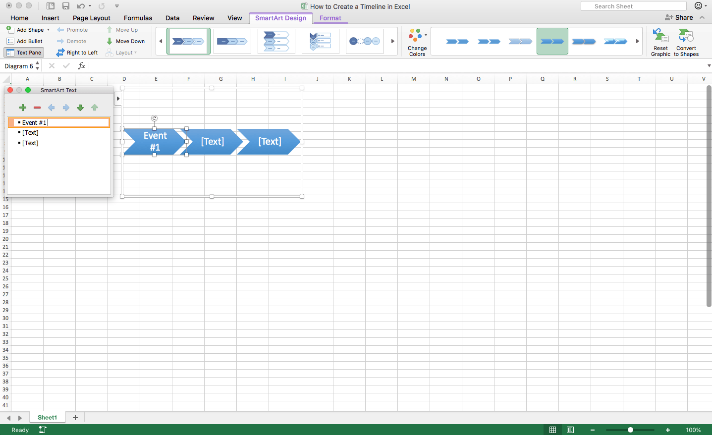 How To Create A Timeline In Excel Amp Template