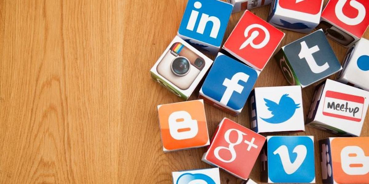 Build social media presence as a web developer