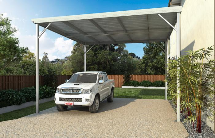W-Pan Aluminum Patio Covers | Deck Awnings and Carports ...