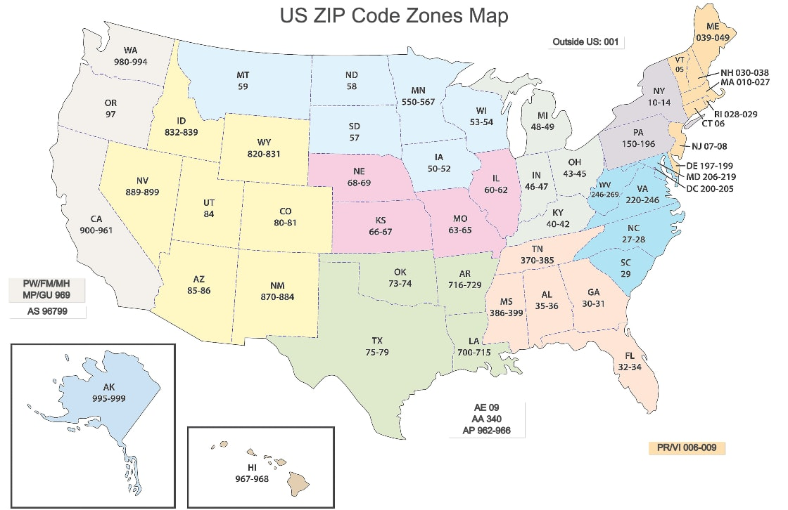 Zip Codes 101 What Is A Zip Code How To Find It