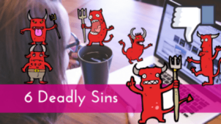 Copy of The 6 Deadly Sins On Facebook - Are You Guilty-