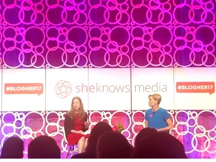 Chelsea Clinton and Cecile Richards educating us about the importance of Planned Parenthood.