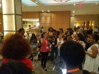 Black Girl Magic BlogHer17 meetup!