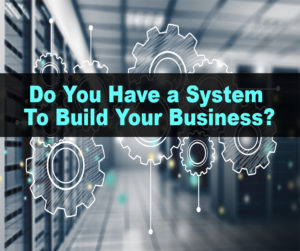 Do you have a system to build your business